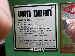 1980 150ton Van Dorn plastic injection molding machine