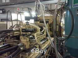 1990 Cincinnati 220-ton Plastic Injection Molding Machine