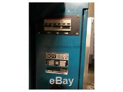 1993 Boy Model 22S DIPRONIC Plastic Injection Molding Machine 4K Hours Only