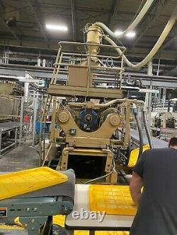 1993 Hpm 1100-ton Plastic Injection Molding Machine
