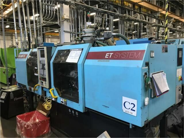 1995 80 Ton 4.8 Oz Van Dorn Et800-200 Plastic Injection Molding Machine Imm