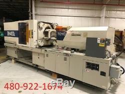 1996 400 Ton Toyo TM 400 G2 Plastic Injection Molding #7793648