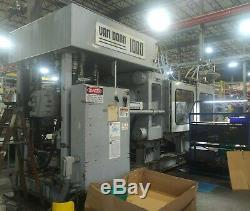 1996 Van Dorn 1000-ton Plastic Injection Molding Machine