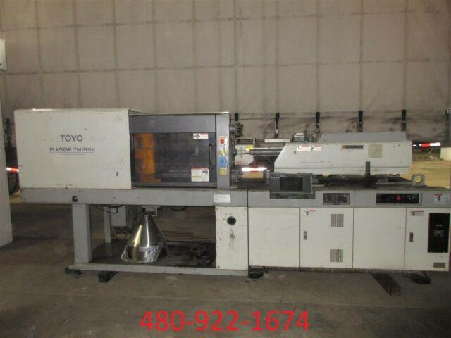 1997 110 Ton Toyo Tm110h Plastic Injection Molding Ref # 7795727