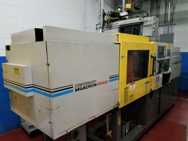 1997 Milacron Fanuc 110-ton All-electric Plastic Injection Molding Machine