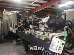 1998 Milacron MH400-54 (H04A0498031), used plastic injection molding machine