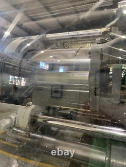 1998 Nissei 154-ton Allrounder Plastic Injection Molding Machine
