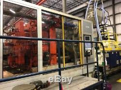 1999 Krauss Maffei 880-ton Plastic Injection Molding Machine