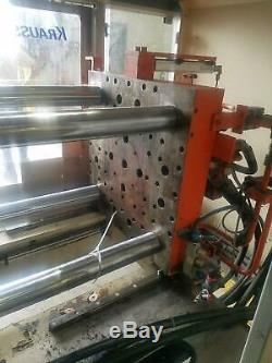 2000 Krauss Maffei 55-ton Plastic Injection Molding Machine