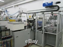 2000 Toyo TI-55H Plastic Injection Molding Machine 55 Ton 2.7 oz Shot Size