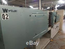 2000 Welltec 181-ton Plastic Injection Molding Machine #2