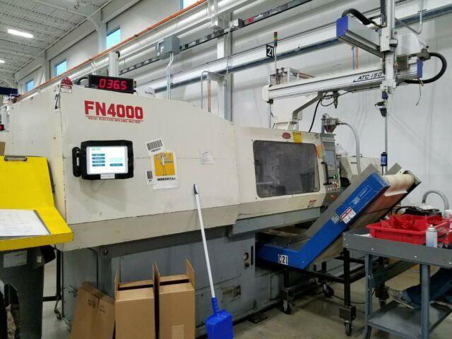 2001 Nissei 197-ton Plastic Injection Molding Machine