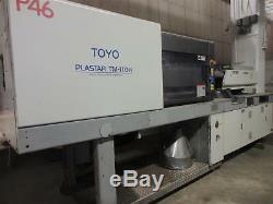 2001 Toyo TM110H Plastic Injection Molding Machine 110 Ton 6 oz Shot Size