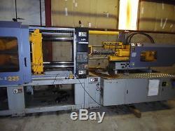 2002 Hpm 225-ton Plastic Injection Molding Machine