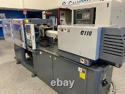 2002 Sumitomo SE50D Plastic Injection Molding Machine 55 Ton 2.2 oz Shot Size