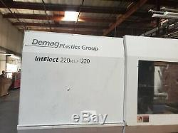 2004 Demag IntElect 220 /610 1220 Plastic Injection Molding Machine 220 ton