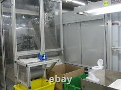 2004 Engel 160-ton Tie-bar-less Plastic Injection Molding Machine