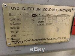 2005 300 Ton 32.8 oz Toyo TM-300 H Plastic Injection Molding Machine IMM