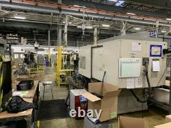 2005 Toyo TM-400H Plastic Injection Molding Machine 400 Ton 55 oz Shot Size
