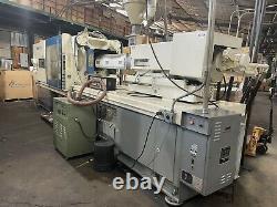 2x JSW 385 TON Plastic Injection Molding Machines / 4x Hanger Molds + Customers