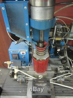 AB-100 Semi-Automatic Plastic Injector Injection Molding Machine Metal Mold