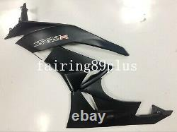 Black ABS Plastic Injection Mold Bodywork Fairing Kit Fit for ZX6R 2009-2012
