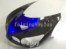 Black Blue ABS Plastic Injection Mold Fairing Kit Fit for Ninja ZX14 2006-2011