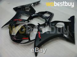 Black Fairing Fit for 03-05 Yamaha R6 06-09 YZF R6s Injection Mold Plastic z08