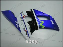 Bllue White Injection Mold Fairing Fit for Yamaha 1998-2002 YZF R6 ABS Plastics