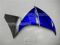 Blue Grey Fairing Fit for Yamaha 2012-2014 YZF-R1 Injection Mold ABS Plastic #21