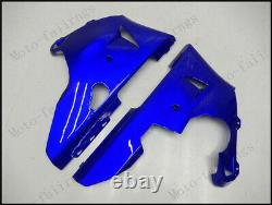Blue White Injection Mold Fairing Fit for Yamaha 1998-1999 YZF R1 ABS Plastics