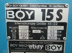 Boy 15s Plastic Injection Molding Machine Great Deal 1st Come 1st Serve Xcelnt