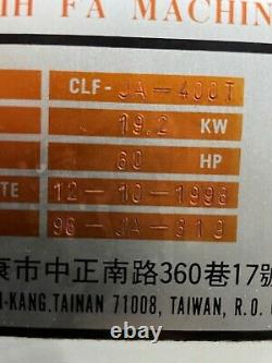 CLF 400T Plastic injection molding machine 400 Ton