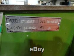 Can Yang CY-160ST Vertical Plastic Injection Molding Machine Cable Plug Press