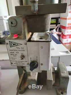 EMCO/Powerlab Model 333 Plastic Injection Benchtop Molding Machine 1/3 oz shot