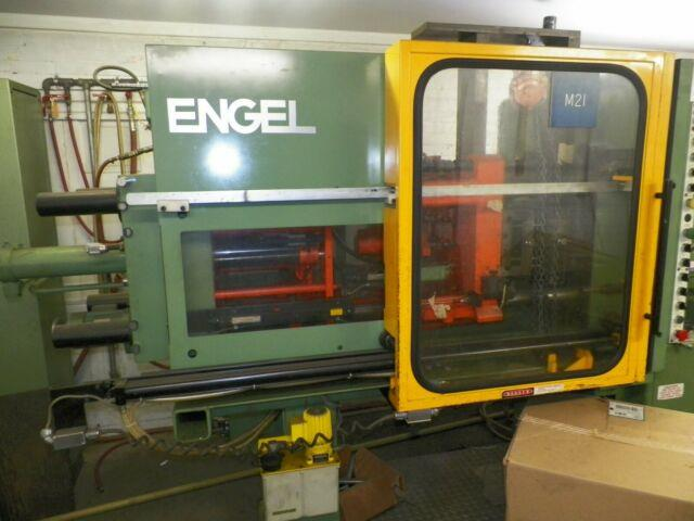 Engel 80 Ton Cnc Plastic Injection Molding Machine 1985 Great Condition