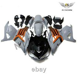 FT Injection Mold Plastic Fairing Fit for Kawasaki ZX14R ZZR1400 2012-2015 a006