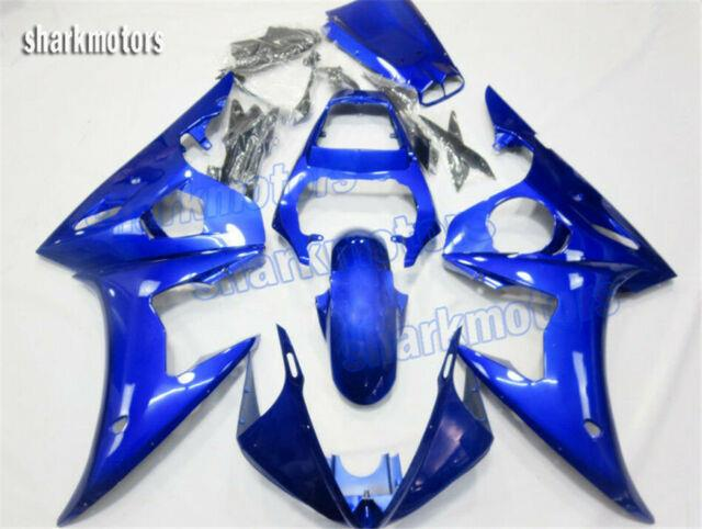 Fairing Blue Injection Mold Fit For Yamaha 2003 2004 2005 Yzf R6 Plastic Kit Aa5