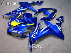 Fairing Blue Injection Mold Fit for YAMAHA 2004-2006 YZF R1 ABS Plastic Kit fB1