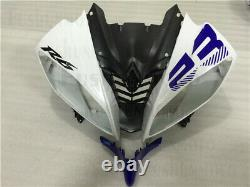Fairing Fit for 08-16 Yamaha YZF R6 Blue White Black Injection Mold Plastics a39