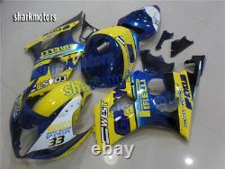 Fairing Fit for 2003 2004 Suzuki GSXR 1000 K3 Plastics Set Injection Molding aB9
