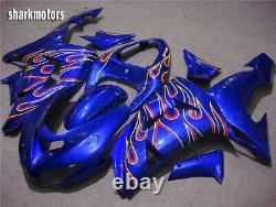 Fairing Fit for Fit for 2006-2007 ZX10R Blue Injection Mold Plastics Set tB2