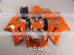 Fairing Fit for Ninja 636 ZX-6R 2003-2004 Orange Injection Mold ABS Plastics #26