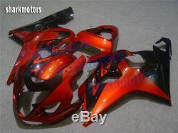 Fairing Fit for Suzuki 2004 2005 GSXR 600 750 K4 Plastics Set Injection Mold eC1