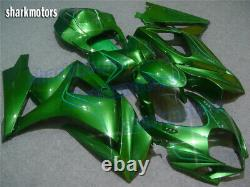 Fairing Fit for Suzuki 2007-2008 GSX-R 1000 Injection Molding Plastics Set Green