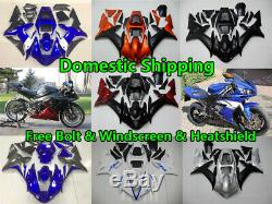 Fairing Fit for Yamaha 2002 2003 YZF R1 Injection Mold ABS Plastics New Kit a001