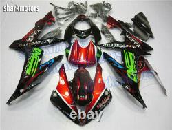 Fairing Fit for Yamaha YZF R1 2004-2006 Plastics Set Injection Mold New fA3