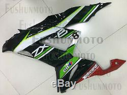 Fairing Fit for ZX-6R 2013 2014 2015 2016 2017 Plastic Set Injection Mold a24