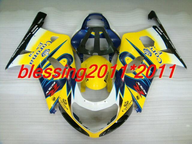 Fairing For Suzuki 2001-2003 2002 Gsxr 600 750 K1 Plastic Set Injection Mold B58