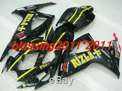 Fairing For Suzuki GSXR600 750 K6 2006-2007 ABS Plastic Injection Mold Set B02